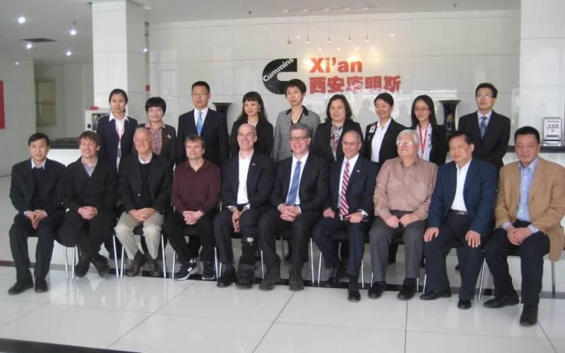 Rep. Larsen and Rep. Boustany's China trip